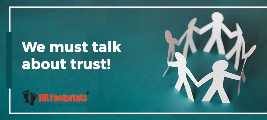 we must talk about trust
